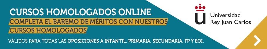 Curso homologados online urjc