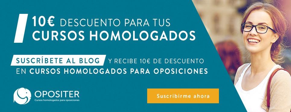 10€ para cursos homologados