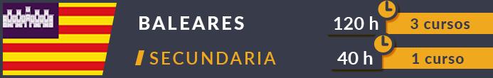 Cursos Oposiciones Secundaria Baleares 2019