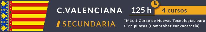 Cursos oposiciones comunidad valenciana secundaria