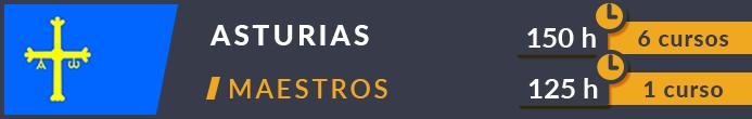 Cursos maestros Asturias