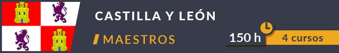 Horas cursos Oposiciones Maestros Castilla y León