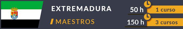 Cursos Extremadura Maestros oposiciones