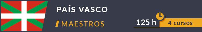 Cursos Oposiciones Maestros País Vasco