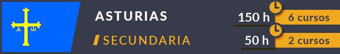 Cursos secundaria Asturias