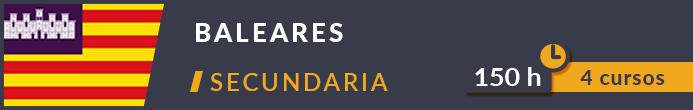 Cursos secundarias Baleares