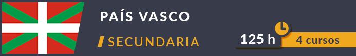 Cursos oposiciones secundaria País Vasco