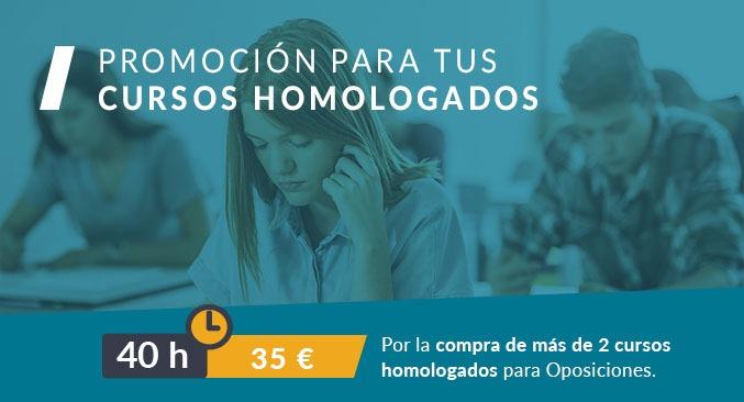 Cursos homologados promoción cursos 40 horas