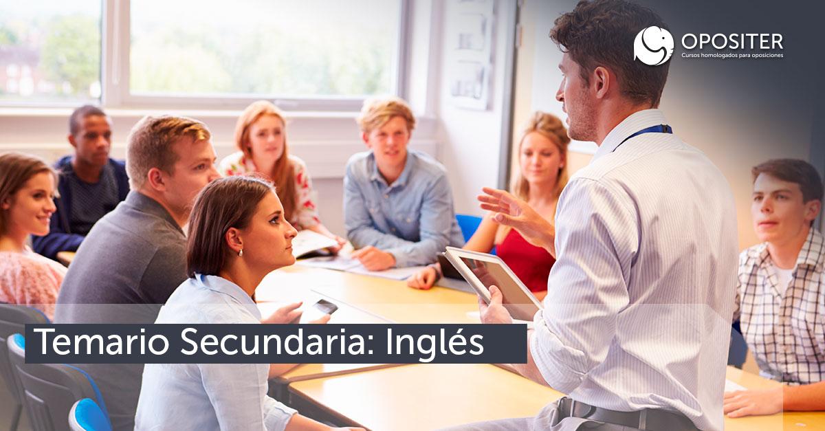 Temario para docentes de secundaria: inglés