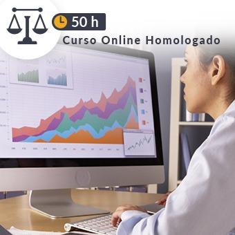 Curso online homologado Justicia de 50h Microsoft Excel