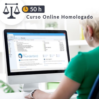 Curso online homologado Justicia de 50h Correo Electrónico