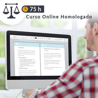 Curso online homologado Justicia de 75h Microsoft Word