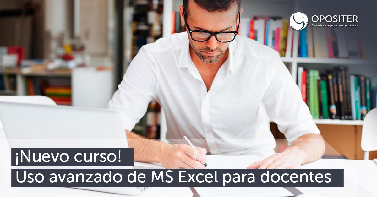 Uso avanzado MS Excel para docentes