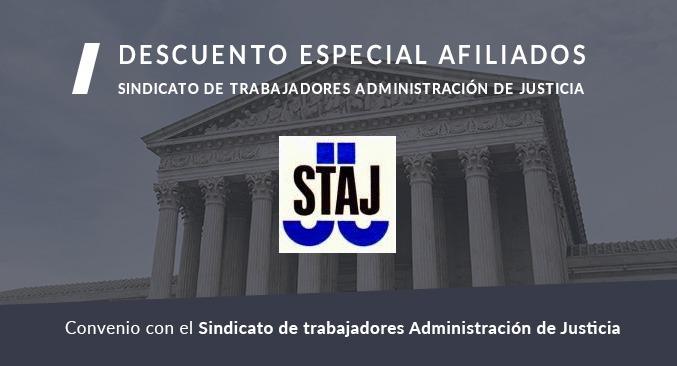Promoción oposiciones justicia STAJ