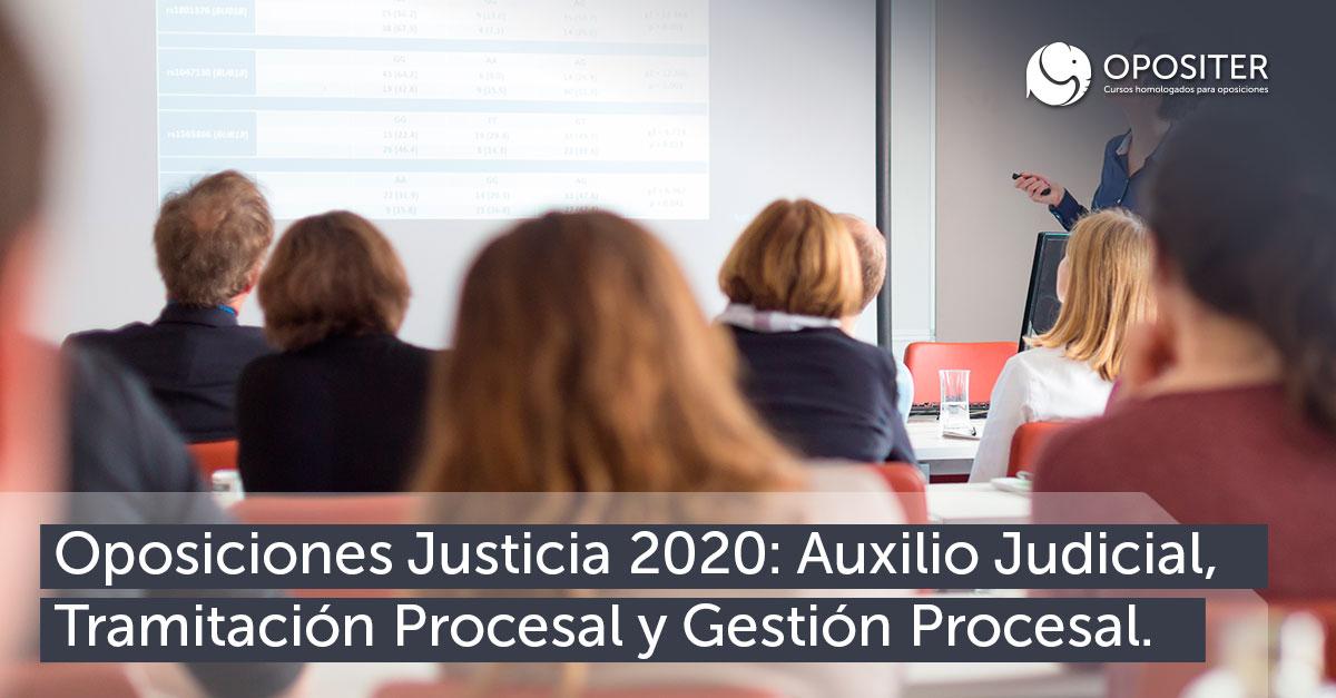 Oposiciones Justicia 2020 Opositer