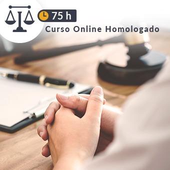 Curso online homologado Justicia de 75h Civil