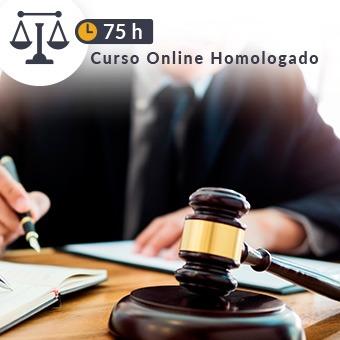 Curso online homologado Justicia de 75h Declarativo