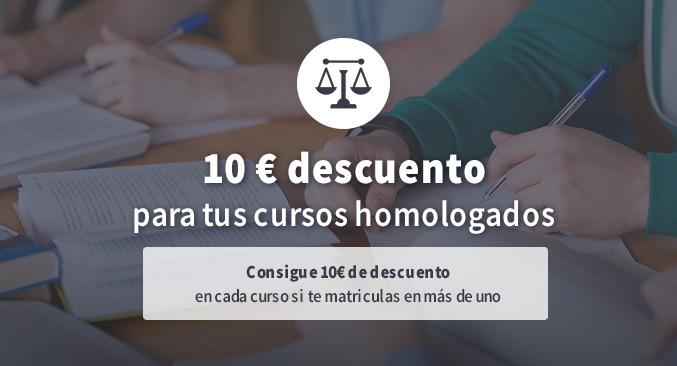 Descuento 10€ Justicia