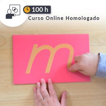 Curso online homologado Educación de 100h Metodología Montessori