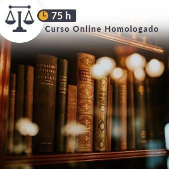 Curso online homologado Justicia de 75h Juicios Universales