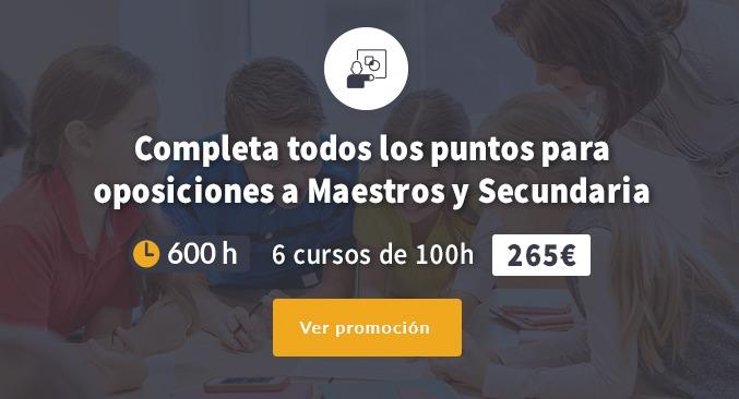 6 cursos homologados de 100h